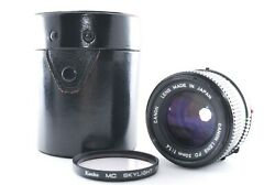 Andrdquomint In Case Canon New Fd 50mm Mf Lens F1.4 From Japan A004
