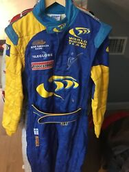 Mika Salo Hand Signed Race Used/worn Bar Honda Formula One Sparco Driver Suit