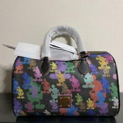 Dooney And Bourke Disney 10th Anniversary 2 Way Shoulder And Hand Bag Unused Nwt