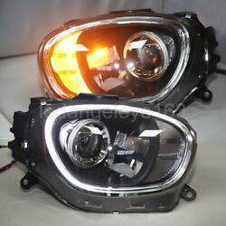 Full Led Front Lights For Mini Countryman Led Head Lamps 2017-2019 Year Ld