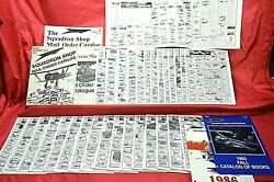 The Squadron 1975 To 1993 Toy Model Kit Mail Order Catalogs And Supplements
