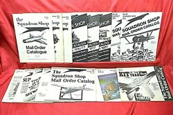 The Squadron 1975 To 1982 Toy Model Kit Mail Order Catalogs, 15 Catalogs