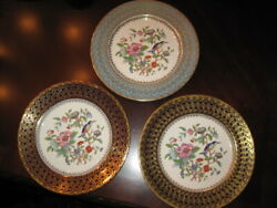 Set Of Two 2 Aynsley Pembroke Cabinet Dinner Plates - Pick Your 2 Colors