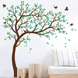 Large Tree Wall Decals Wall Tattoo Large Nursery Tree Decals Wall Mural Vinyl