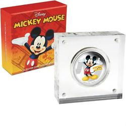 2014 Niue 2 Disney Mickey And Friends Mickey Mouse 1oz Silver Proof Coin