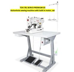 Texi 781 Servo Premium Ex Buttonhole Sewing Machine With Built In Motor D