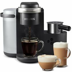 Keurig K-cafe Coffee Maker Single Serve K-cup Pod Coffee Latte And Cappuccino...