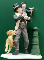 Department 56 Dickens A Christmas Carol Bob Cratchit And Tiny Tim 58537 New💖