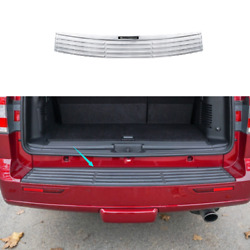 For Lincoln Navigator 2016-2017 Chrome Steel Outer Rear Bumper Protector Guard