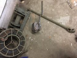 Rare Wc Dodge Mu Winch For 1/2 Ton Dodge With Wire Pto And Drive Shaft