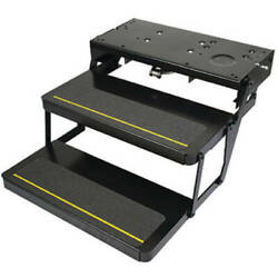 Power Gear Kwikee 372261 Automatic Electric Rv Steps With 24 Double Tread And Mot