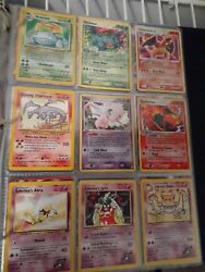 914 Vintage Pokandeacutemon Cards Collection Great Condition Shining Charizard Included