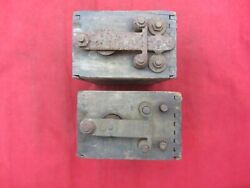Lot Of 2 Vintage Antique Ford Model T A Ignition Coils Buzz Box As Is Untested
