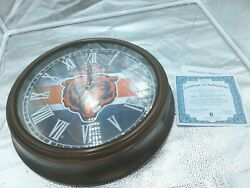 A0132 Chicago Bears Wall Clock Local Pick-up Only 26065-1