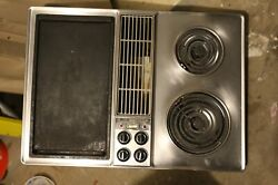 30 Jenn Air Downdraft Cooktop C203 With Grill And Griddle