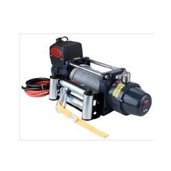 Vi Tds-12.0c 12000lb Lbs Pound Electric Recovery Winch 12v 6.0hp Steel Cable