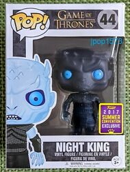 Funko Pop Game Of Thrones Night King 44 - 2017 Sdcc Summer Convention Exclusive
