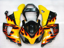 Body Work Fairing To Yamaha Yzf-600 R6 1998 -19994new Injection Molding
