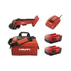 22-volt Cordless 5 In. Angle Grinder Kit With 2 4.0 Lithium-ion Batteries