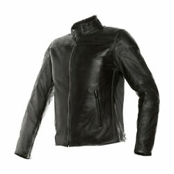 Dainese Jacket Leather Montone Pelle-leather Blk 44