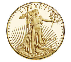 Us Mint American Eagle 2021 One Ounce Gold Proof Coin 21eb - Confirmed Order