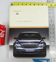 Mercedes Maybach Moments 02 2002 57 62 Book Benz Brochure Ad Picture Magazine