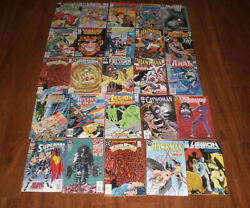 25 Assorted Dc Comic Books - 30 Years Old