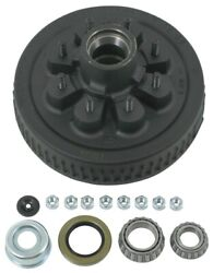 Dexter 8-219-4uc3-ez E-z Lube Hub And Drum Assembly For 5.2-7k Axles - 8 On 6-1/2