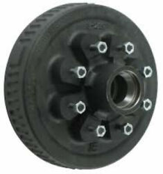 Dexter 8-219-4uc3 Standard Hub And Drum Assembly For 5.2-7k Axles - 8 On 6-1/2