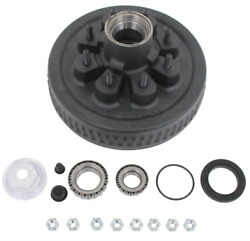 Dexter 8-219-9uc3-a Oil Bath Hub And Drum Assembly For 5.2-7k Lb Axles- 8 On 6-1/2