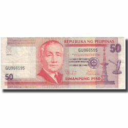 [128420] Banknote Philippines 50 Piso 2013 Km193d Vf30-35