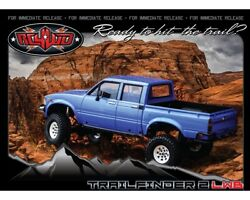 Rc4wd Trail Finder 2 Truck Kit Lwb Mojave Ii 4-door Body Set Rc4zk0058