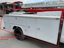 Used 11and039 Knapheide Dually Utility Service Bed Box Body 00 Ford F450 Super Duty