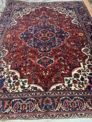 9andrsquo9andrdquo X 13andrsquo Indian Medallion Oriental Rug - Full Pile - Hand Made - 100 Wool