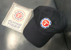 Flying Tigers Air Freight Cap New Unused Color Dark Blue Cap Cotton And Sticker