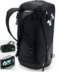 Under Armour UA Contain Duo 2.0 Backpack Duffle Bag 1316570 Black Unisex Bag $49.50