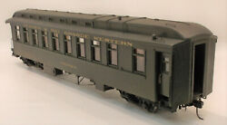 On3 Brass Psc Denver And Rio Grande Western Parlor/buffet Car Chamacustom Paintb