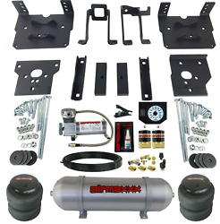 Air Bag Tow Kit White Controls Compressor And Tank For 2011-16 Ford F250 F350 4x4