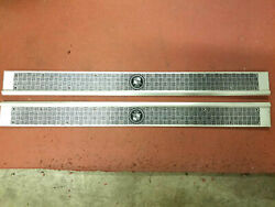 Cadillac 1923 Door Sill Plate Set Of Two - Etched Aluminum