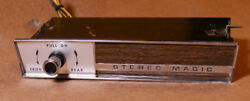Tenna Stereo Magic Reverb Unit For Your Vintage/muscle Car Restoration.