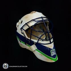Roberto Luongo Unsigned Goalie Mask Vancouver 50th Anniversary