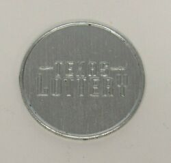Texas Lottery Coin For Scratch Off Lotto Scratchman In Search Of Instant Winner