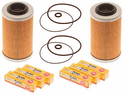 Sea Doo 4-tec Maintenance Kit Oil Filter W/ O-ring And Ngk Spark Plugs 2 Pack