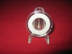 10 Ring Type 16mm Coin Capsule For British 1/10 Oz. Gold Or Silver Brittania