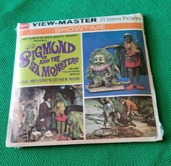 Sealed B595 Sigmund And The Sea Monsters Krofft Tv Show View-master Reels Packet