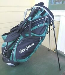 Mac Gregor Stand Bag / 7-way Divide / Black - Green / No Raincover