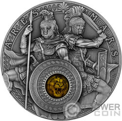 Ares And Mars 2 Oz Silver Coin 5 Niue 2021