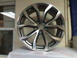 18 Gunmetal A6 Sport S Line Style Rims Wheels For Tt Quattro A3 A4