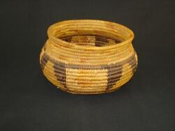 A Very Nice, Early Mission Olla Basket, Native American Indian, C.1908