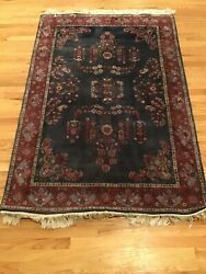 48 X 70 Vintage 60's Or 50's Rug From Abc Carpet Factory Ny, Ny Good Condition